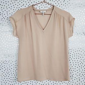 Joie Suela Silk Blouse in Soft Pink - XXS